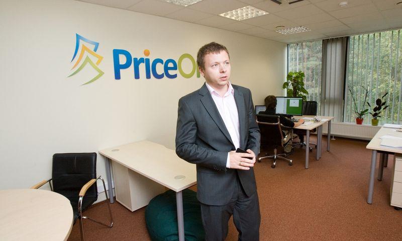 """Jurijus Laneckis """"PriceOn"""" biure 2012 m. Vladimiro Ivanovo (VŽ) nuotr."""