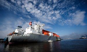 Klaipėdoje – naujas didelis SGD krovinys