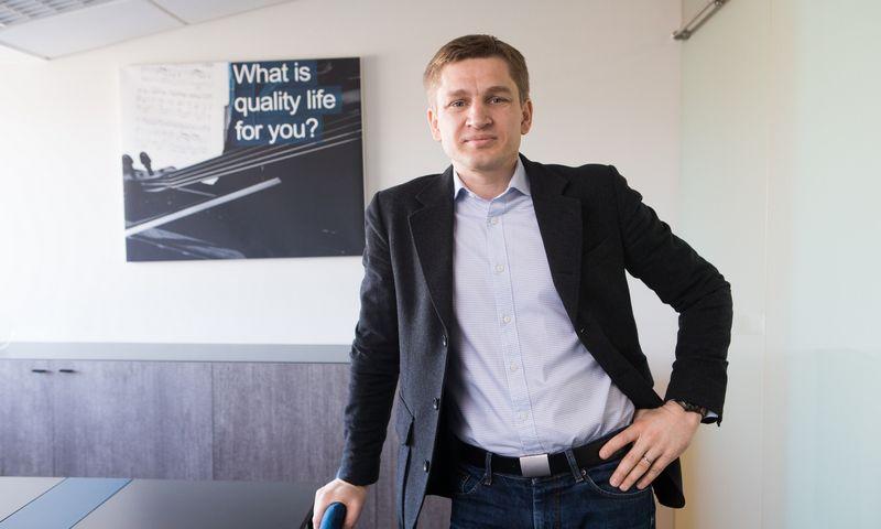 """Marius Čiuželis, """"MC Wealth Management"""" įkūrėjas. Juditos Grigelytės (VŽ) nuotr."""