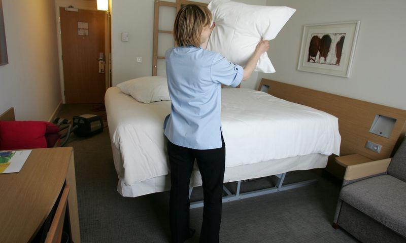 Kuo daugiau žvaigždučių viešbutis gautų, tuo didesnį mokestį reikėtų susimokėti. Violetos Bubelytės nuotr.