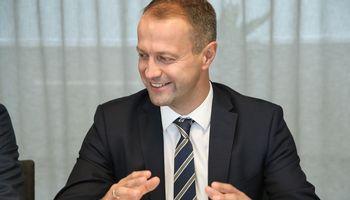 """D. Misiūnas tapo """"Auga group"""" valdybos pirmininku"""