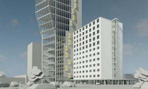 Klaipėdojeplanuoja 19-aukštį: bus biurų, butų ir viešbutis