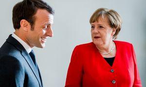 Įtampa tarp Prancūzijos ir Vokietijos įneša sumaišties lenktynėse dėl svarbiausių ES postų
