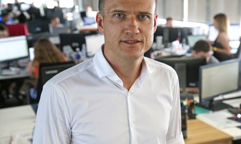 """Mindaugas Veselis, """"BTL Group"""" vadovas: """"Verslas eina ten, kur gali uždirbti."""" Vladimiro Ivanovo (VŽ) nuotr."""