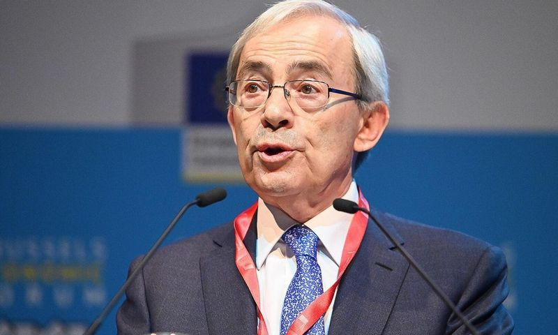 Profesorius Christopheris Pissaridesas, Nobelio premijos laureatas. Europos Komisijos nuotr.