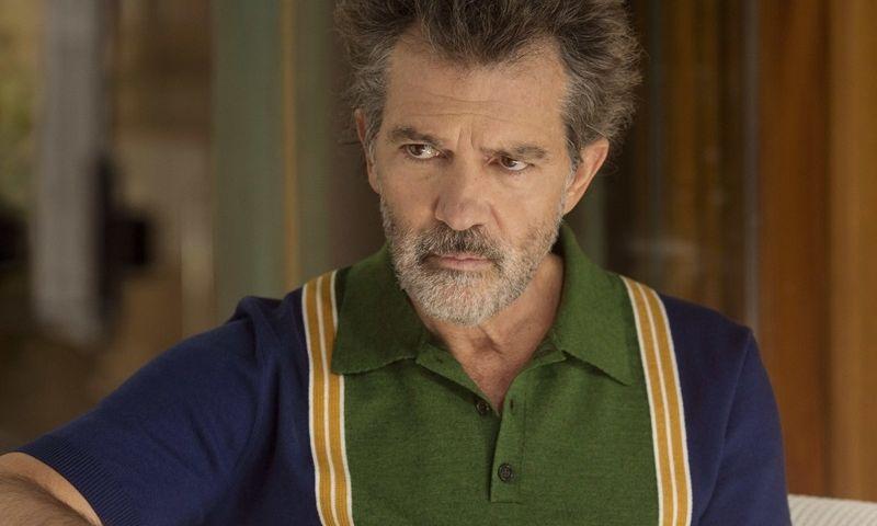 """Antonio Banderasas filme """"Skausmas ir šlovė""""."""