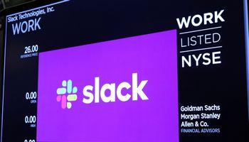 """""""Slack"""" debiutuoja NYSE biržoje"""