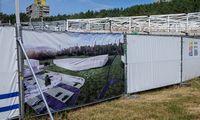 VilniausLazdynų baseino statybose atlikta 40% darbų