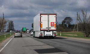 Krovinių Lietuvoje šiemet vežta 7,2% daugiau