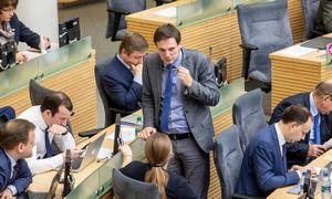Koalicijos derybininkai baigė darbą, dėl vaiko pinigų sutarti nepavyko
