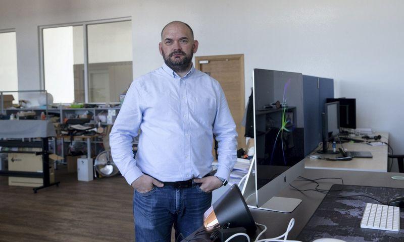 """Marius Pareščius, """"Lithuanian ICT Cluster"""" prezidentas."""