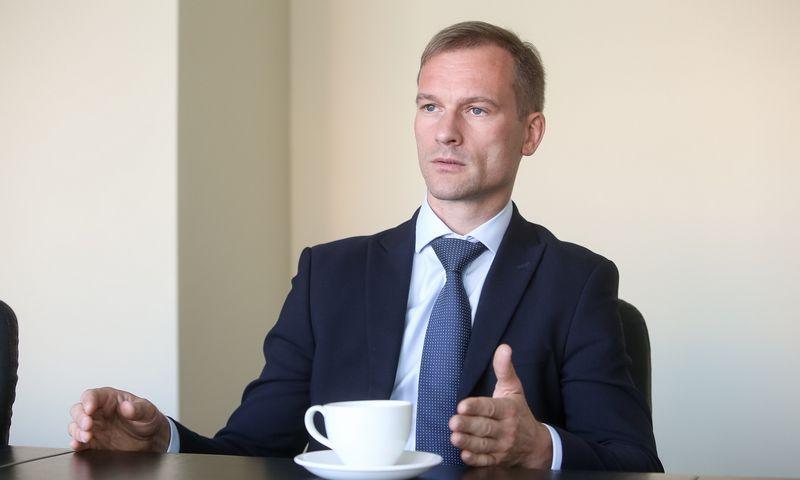 Marius Pulkauninkas, valstybinės miškų urėdijos direktorius. Vladimiro Ivanovo (VŽ) nuotr.