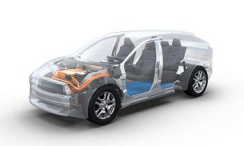 """""""Subaru"""" ir """"Toyota"""" kartu kuria SUV tipo elektromobilį"""