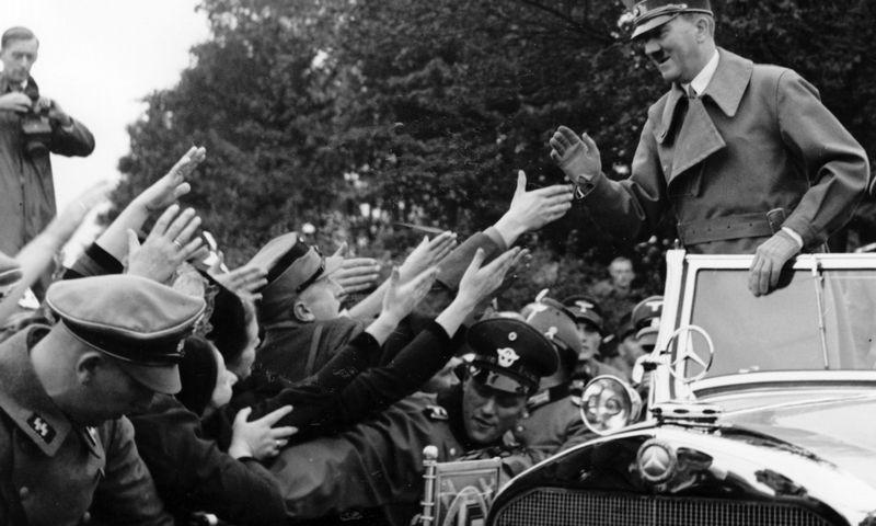 """Šešeri metai iki kracho – Adolfas Hitleris 1938-aisias. """"Berliner Verlag"""" archyvo nuotr."""