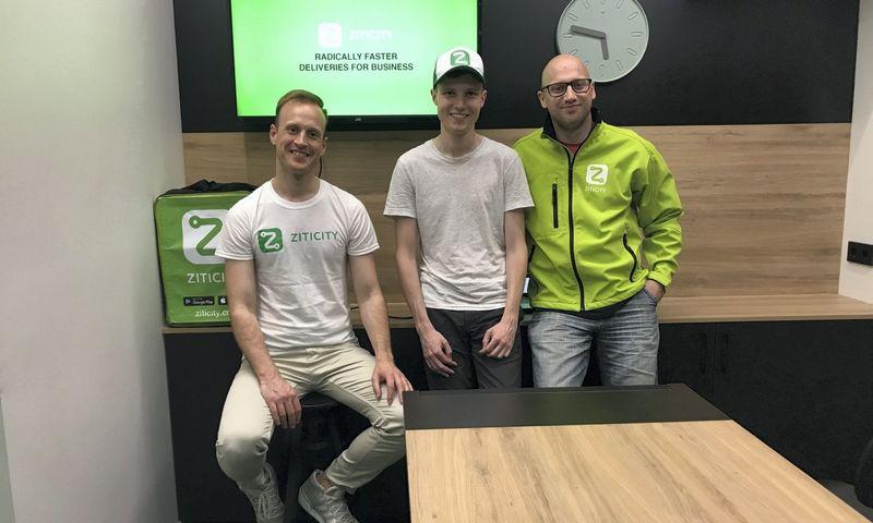 """""""Ziticity"""" įkūrėjai: Laimonas Noreika (kairėje), Karolis Januškas ir Vytautas Noreika. Bendrovės nuotr."""