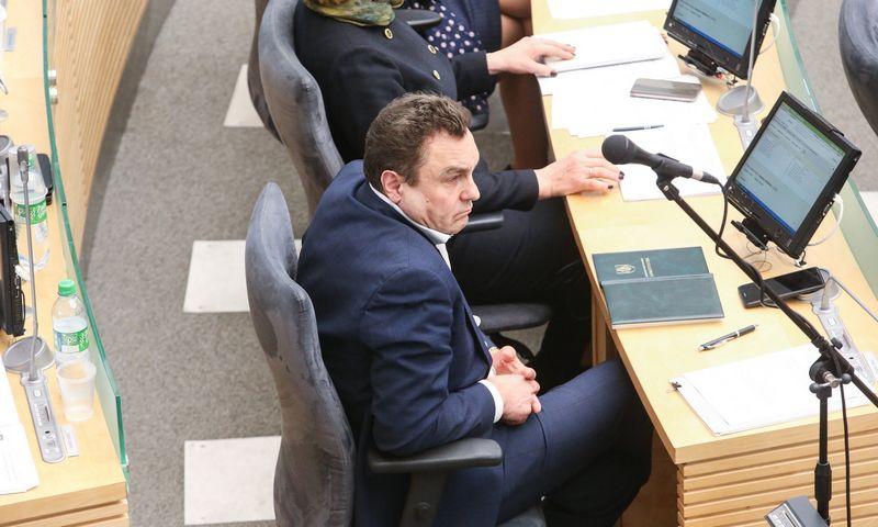Seimo narys Petras Gražulis. Vladimiro Ivanovo (VŽ) nuotr.