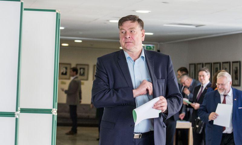 Valentinas Bukauskas, Seimo narys. Juditos Grigelytės (VŽ) nuotr.