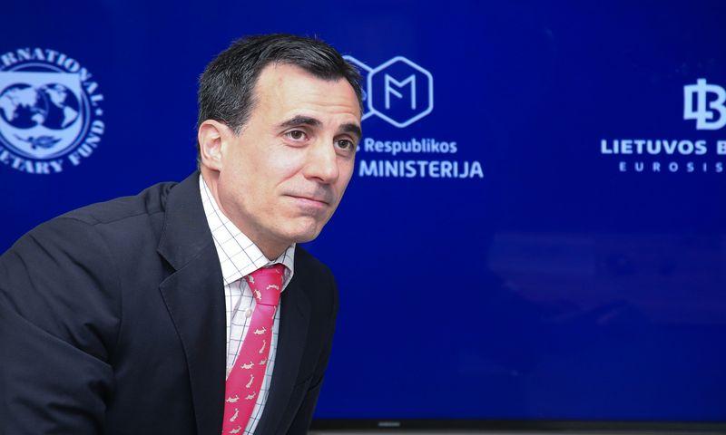 Borja Gracia, TVF misijos vadovas Lietuvai. Daliaus Simėno (VŽ) nuotr.