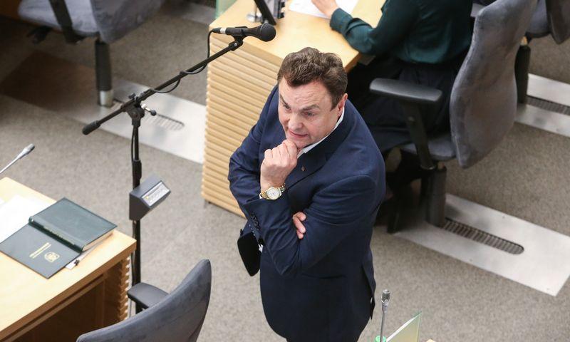 Petras Gražulis, Seimo narys. Vladimiro Ivanovo (VŽ) nuotr.