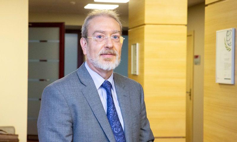 Pablo Antolinas, EBPO pensijų ekspertas. Juditos Grigelytės (VŽ) nuotr.