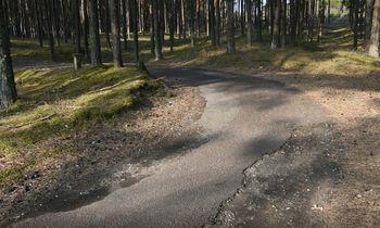 Neringos meras dviračių keliošeimininkų ieškos Vilniuje