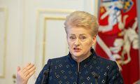 Ministrų kabinetas paskyrė rentąD. Grybauskaitei