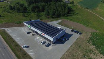 Į pirmąją Lietuvoje A++ energinės klasės parduotuvę investavo 0,5 mln. Eur