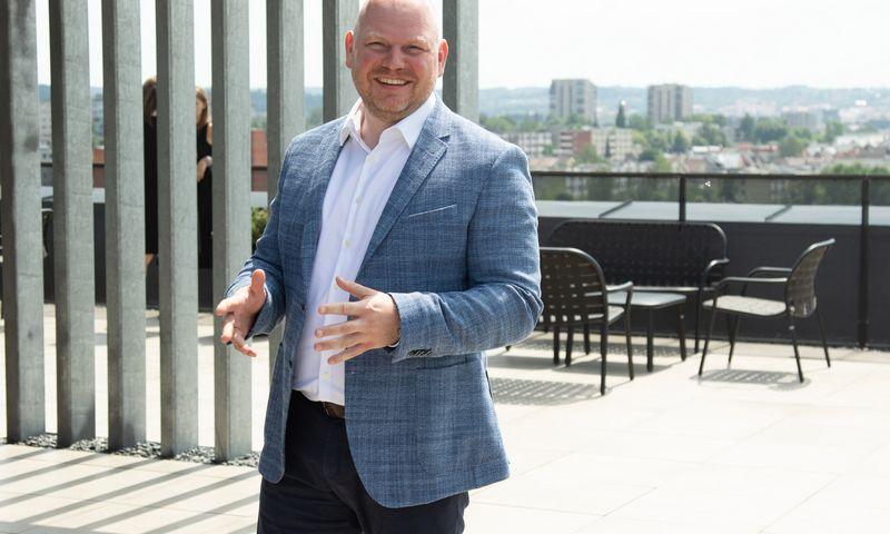 """Dalius Šimaitis, """"City Service"""" valdybos narys.  Vladimiro Ivanovo (VŽ) nuotr."""