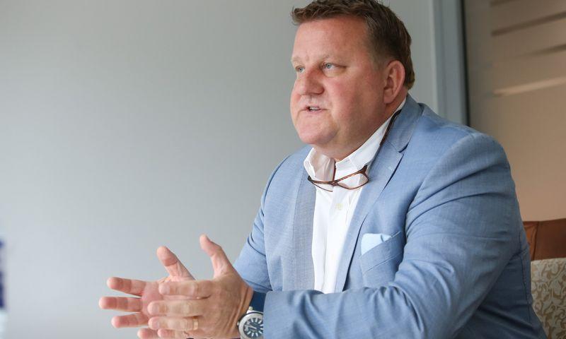 """Arūnas Šikšta, UAB """"Financial Management Group"""" direktorius. Vladimiro Ivanovo (VŽ) nuotr."""
