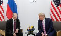 D. Trumpas Rusijos prezidentui: nesikiškite į rinkimus, prašau