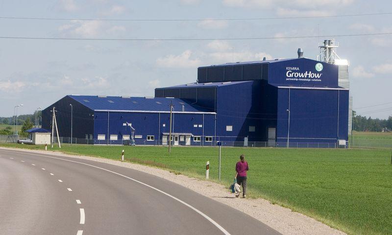 """UAB """"Kemira GrowHow sėklų fabrikas"""" (nuo 2009 liepos 9 d. - """"Baltic Agro"""") Panevėžio rajone. Juditos Grigelytės (VŽ) nuotr."""