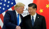 JAV ir Kinijos lyderiai sutarė toliau derėtis