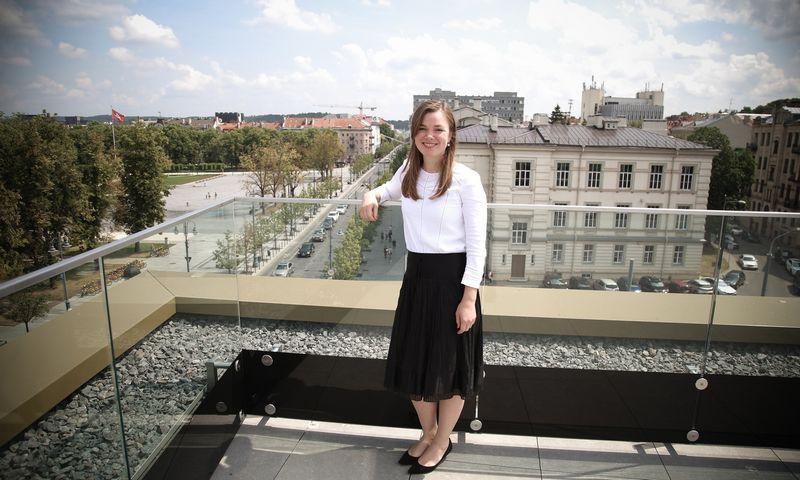 """Indrė Dargytė, """"Eika Asset Management"""" valdybos narė. Vladimiro Ivanovo (VŽ) nuotr."""