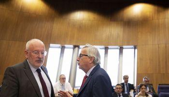 F. Timmermansas – kandidatas į EK prezidento postą