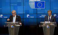 ES vadovai Briuselyjetęsia diskusijas dėl naujųjų Europos lyderių