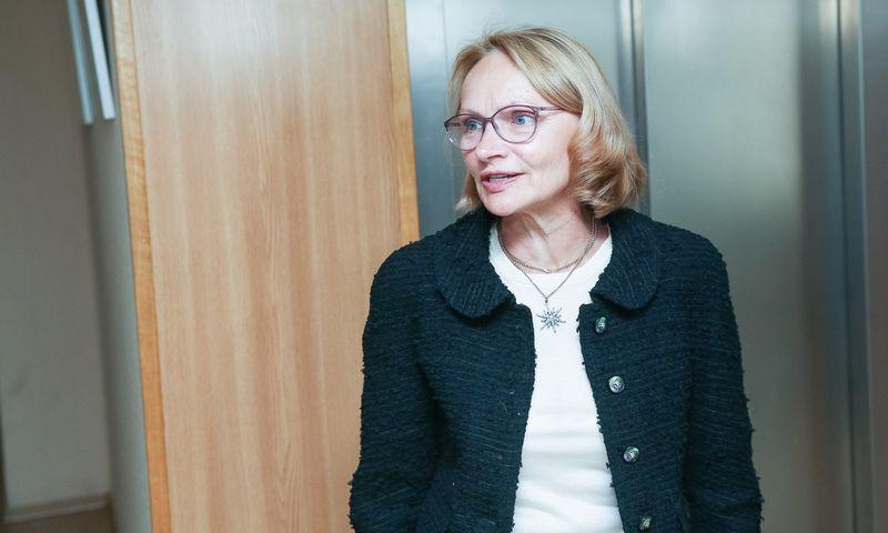 """Lyda Lubienė, """"Achemos grupės"""" akcininkė pas energetikos ministrą. Vladimiro Ivanovo (VŽ) nuotr."""