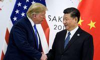 JAV ir Kinijos lyderiai pakūrė ralį akcijų rinkose