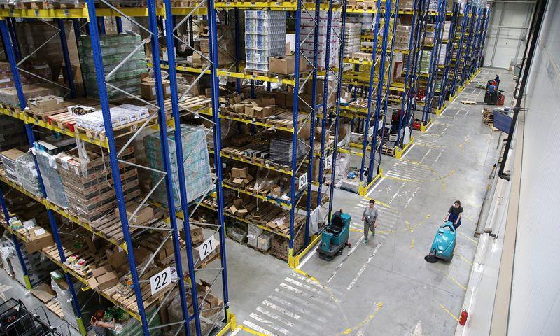 """Naujasis """"Aibės"""" logistikos centras neleidžia abejoti duodama nauda, tačiau reikalauja susidoroti su daugybe naujų iššūkių. Vladimiro Ivanovo (VŽ) nuotr."""