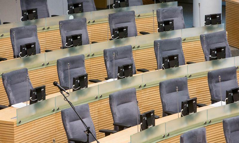 Seimo laikinųjų tyrimo komisijų išvados patvirtinamos, bet dažniausiai baigiasi niekuo – yra tiesiog pamirštamos. Juditos Grigelytės (VŽ) nuotr.