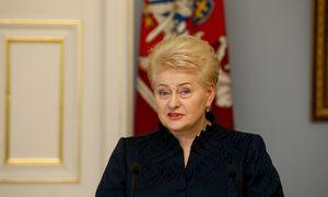 D. Grybauskaitė: susitarimas dėl naujų ES vadovų atitinka Lietuvos interesus