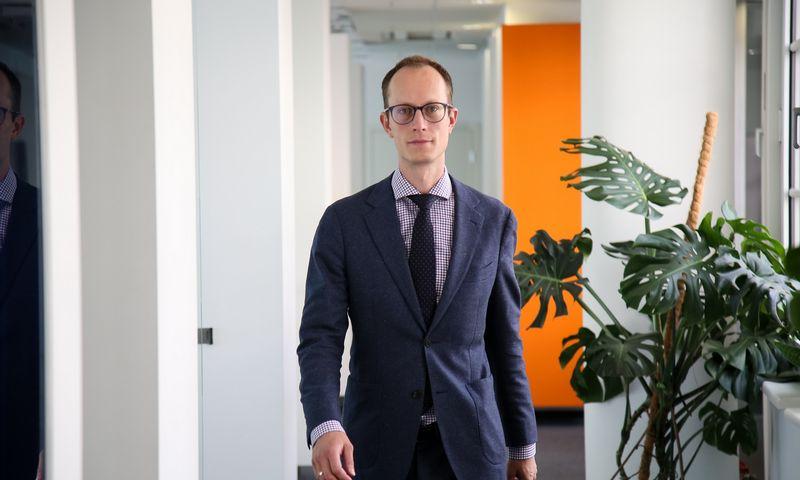 """Gediminas Uloza, """"E energijos"""" generalinis direktorius. Vladimiro Ivanovo (VŽ) nuotr."""