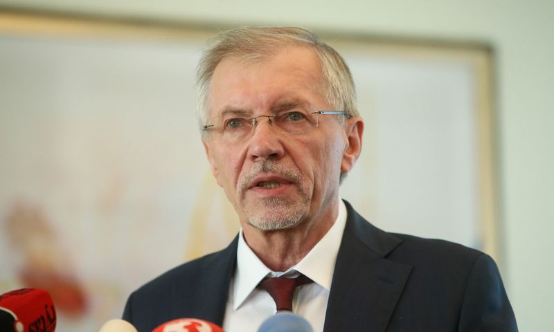 Gediminas Kirkilas, Socialdemokratų darbo partijos pirmininkas. Vladimiro Ivanovo (VŽ) nuotr.