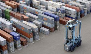 Los Andželas neleido automatizuoti uosto terminalo, kad išsaugotų darbo vietas