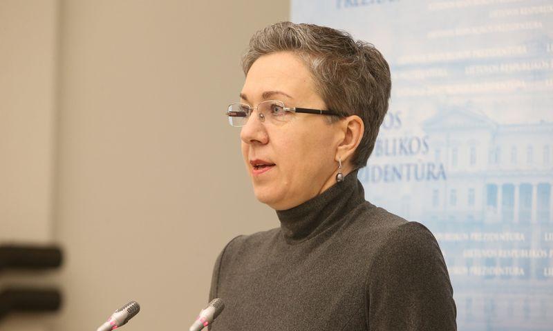 Lina Antanavičienė,  Lietuvos Prezidentės vyriausioji patarėja ekonomikos ir socialinės politikos klausimais. Vladimiro Ivanovo (VŽ) nuotr.