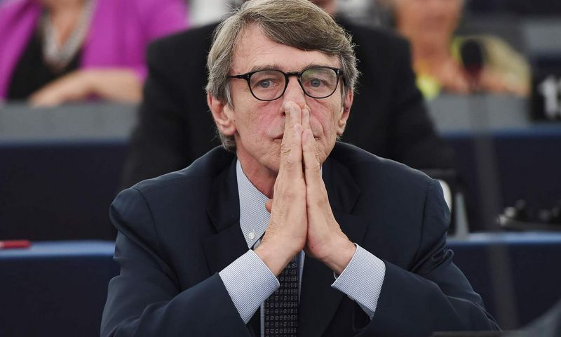 "David-Maria Sassoli. Fredericko Florino (AFP / ""Scanpix"") nuotr."