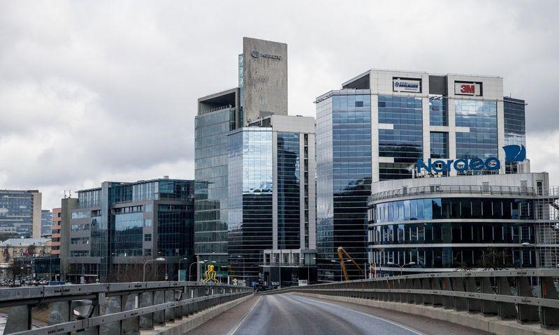 """Verslo biurų kompleksas Vilniuje """"Verslo trikampis"""". Juditos Grigelytės (VŽ) nuotr."""