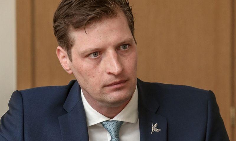 Kęstutis Mažeika paskirtasis aplinkos ministras. Vladimiro Ivanovo (VŽ) nuotr.
