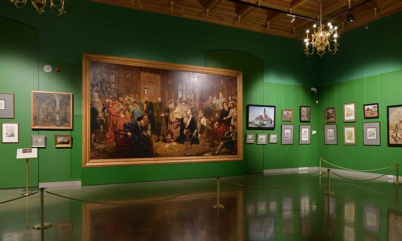 """Parodos """"Liublinas – Lietuvos ir Lenkijos unijos miestas"""" ekspozicija. LDK Valdovų rūmų muziejaus nuotr."""