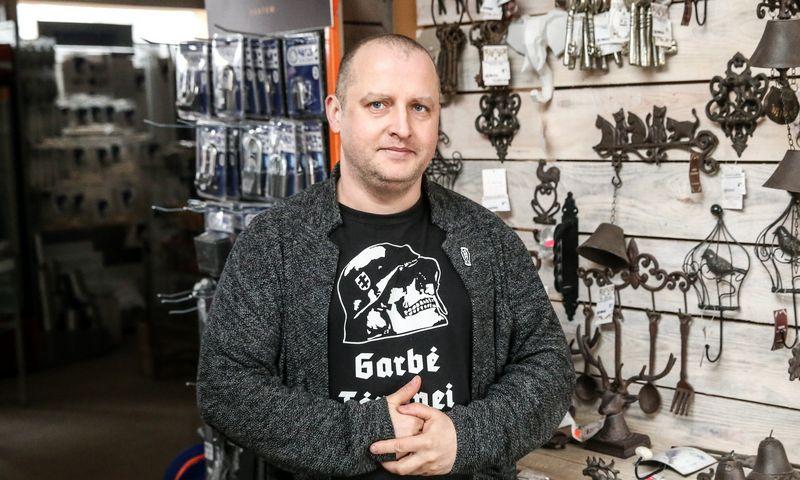 """Kornelijus Nyderis, Šakių statybinių medžiagų prekybos UAB """"Riko prekyba"""" direktorius ir bendraturtis. Vladimiro Ivanovo (VŽ) nuotr."""