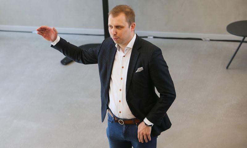 """Andrius Baranauskas, """"Tele2"""" korporacinės komunikacijos direktorius.  Vladimiro Ivanovo (VŽ) nuotr."""